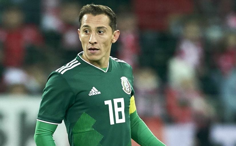 Piala Dunia 2018, Timnas Meksiko, Andres Guardado