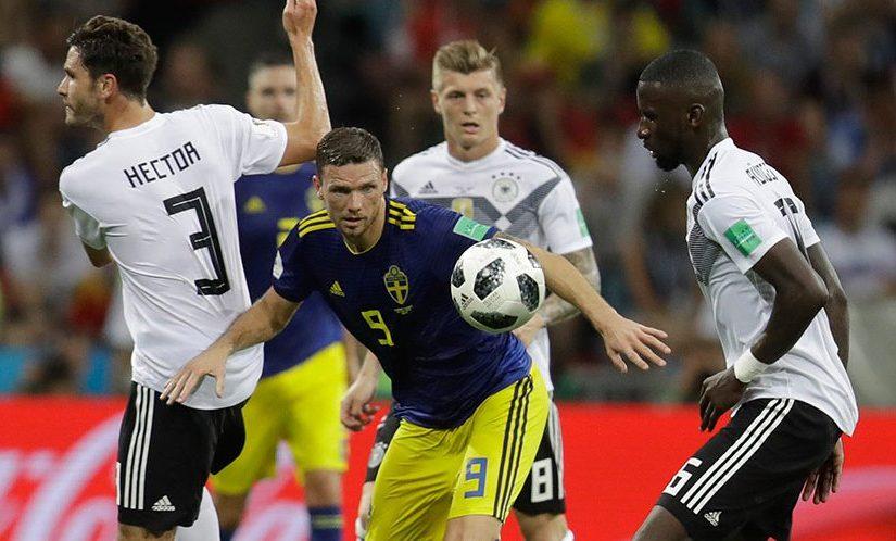 Piala Dunia 2018, Timnas Swedia, Timnas Jerman