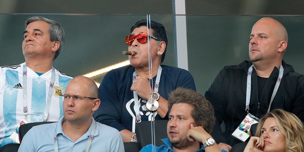 Maradona Sebut Sampaoli Tidak Pantas Pulang Ke Argentina