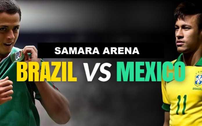 Fakta Menarik Seputar Pertandingan Brasil Vs Meksiko