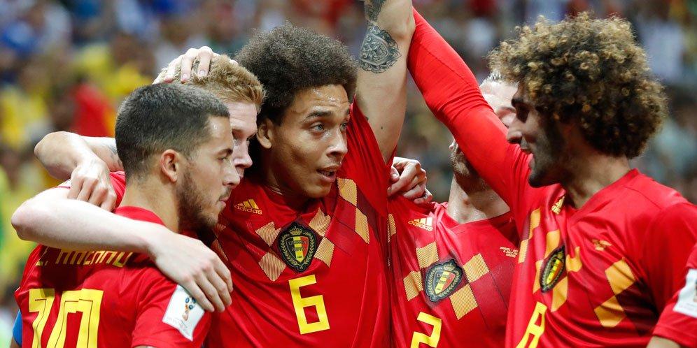 Belgia Sukses Tumbangkan Brasil Dengan Skor 2 - 1