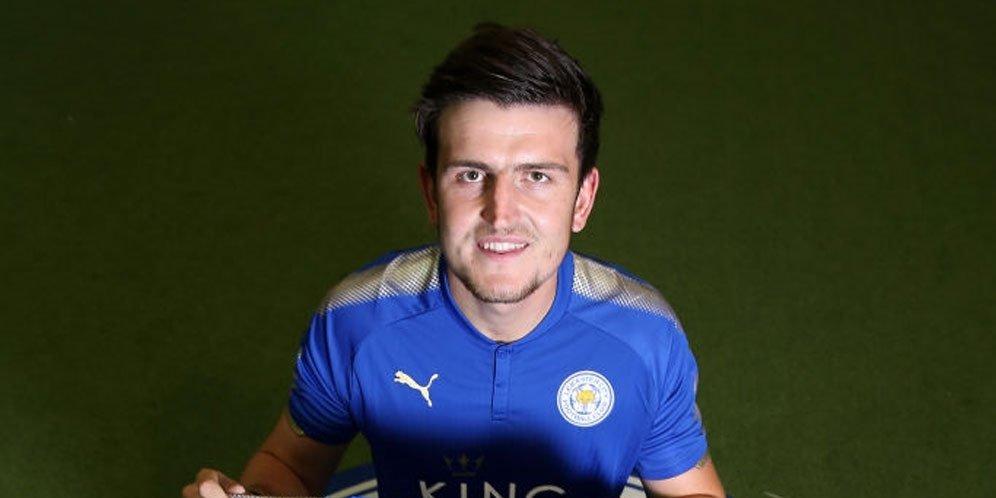 Leicester City Gandakan Gaji Tuk Pertahankan Harry Maguire