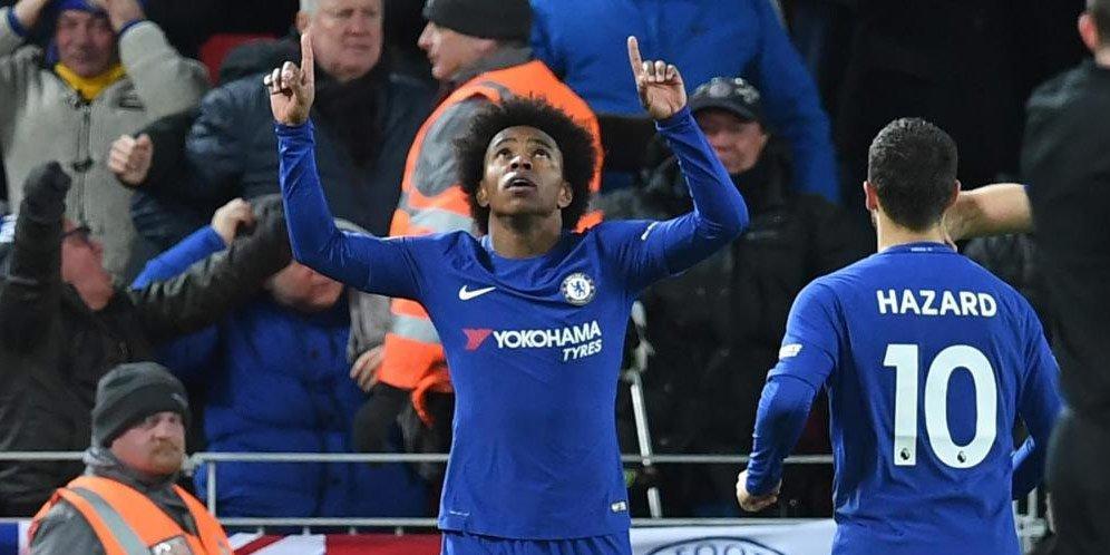 Willian Putuskan Untuk Hengkang Dari klub Chelsea
