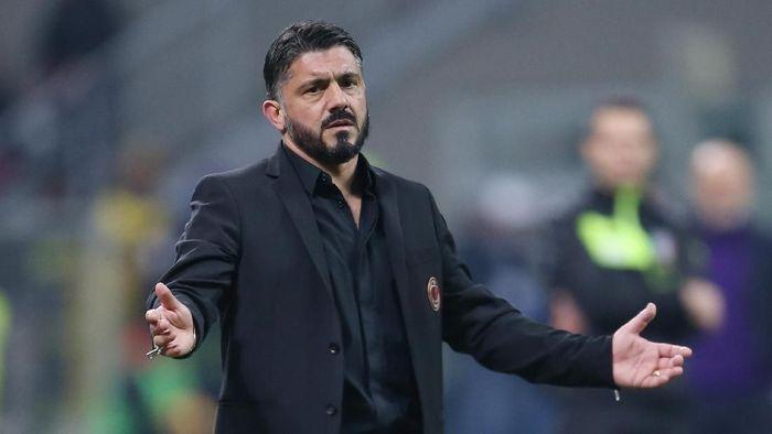 Gattuso Sebut Kekalahan Milan Karena Mereka Kurang Beruntung