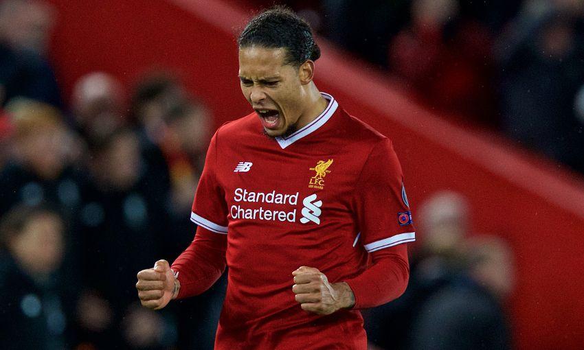 Van Djik Merasa Senang Bisa Cetak Dua Gol Bagi Liverpool