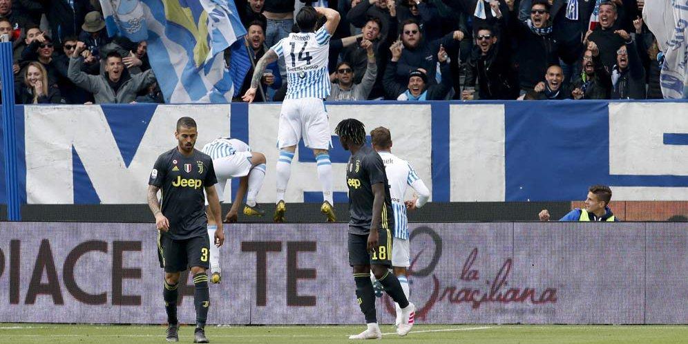 Kekalahan Juventus Tidak Terlalu Mengejutkan Bagi Pelatih SPAL