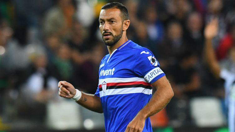 Gagal Pulangkan Ibrahimovic, Milan Incar Fabio Quagliarella