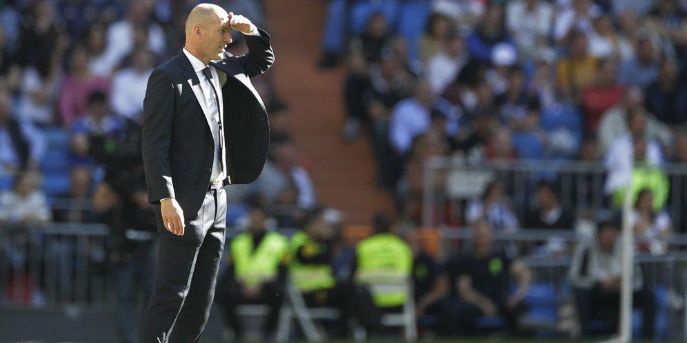 Soria: Zidane Bisa Hancurkan Ruang Ganti Madrid Karena Mainkan Anaknya